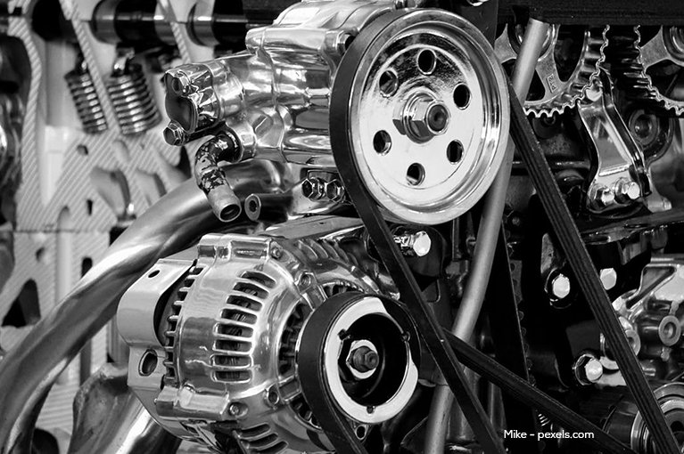 gears inside an engine