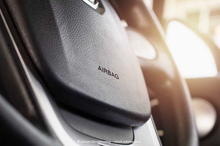 An airbag compartment
